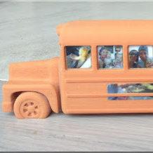 Winkel - Unieke 3D Bus